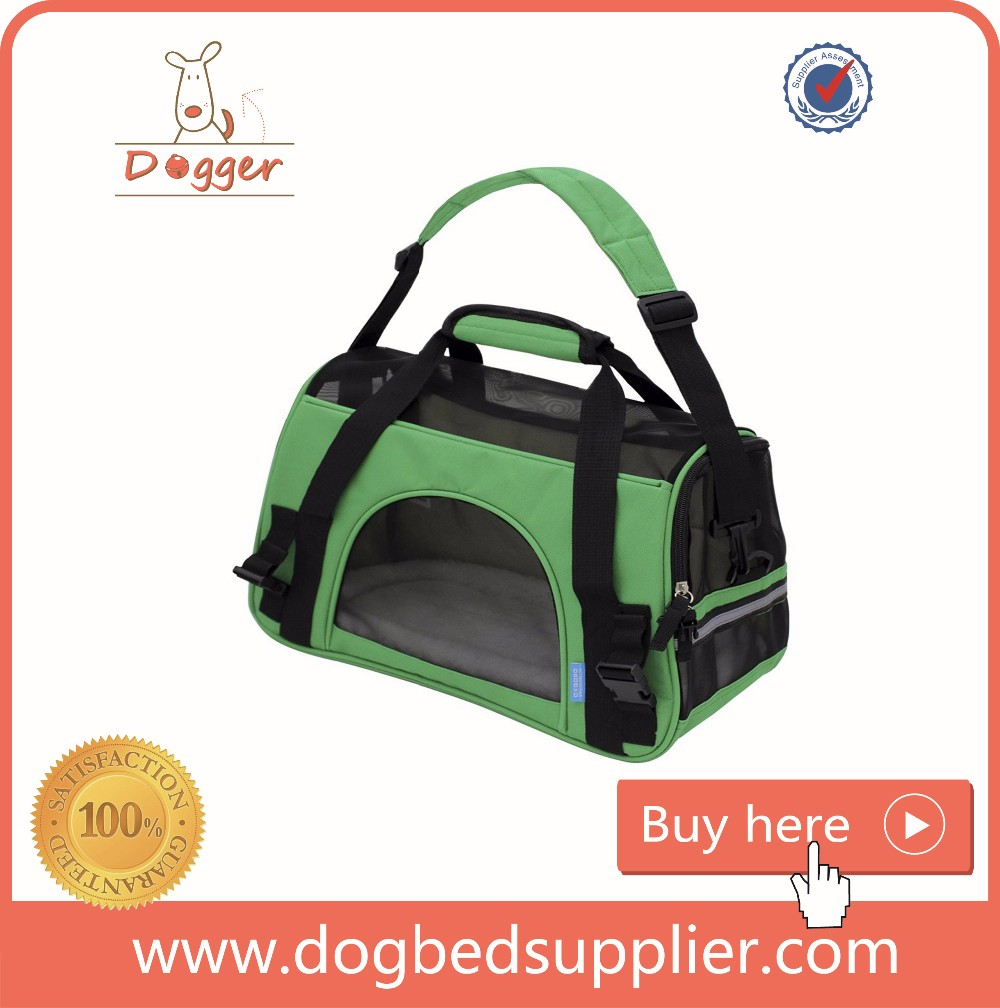 pet products/durable micro-fiber stripe fabric Pet carry Bag