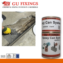 Low shrinkage tile adhesive and grout epoxy resin flooring