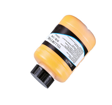industrial yellow bulk pigment ink for Linx numbering marking machine