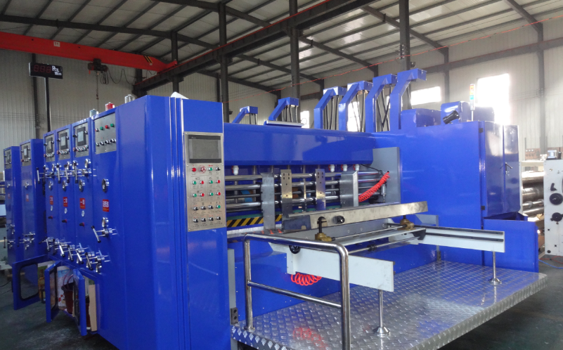 corrugated paperboard printing slotting die cutting machine/flexo ink printer slotter die cutter/carton box