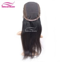 Human hair full wig french lace with bady hair