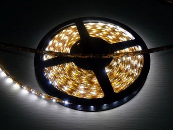 CE ROHs allowed smd3528&5050 led gentle strip light with cold white light