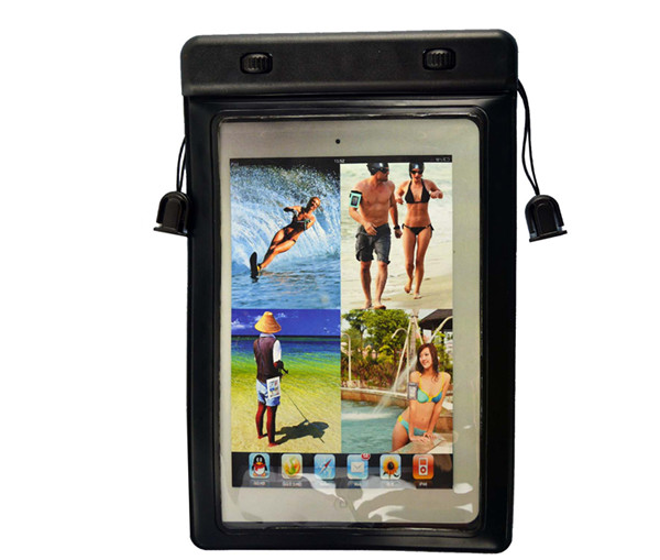 High Quality 100% sealed diving Waterproof Durable Water proof Bag Underwater Case For IPAD
