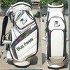Super high quality genuine leather japan brand golf bag