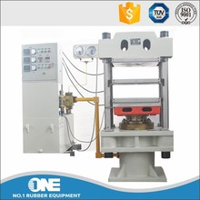 Electric / Oil / Steam Heating Rubber Plate Vulcanizing Press Machine