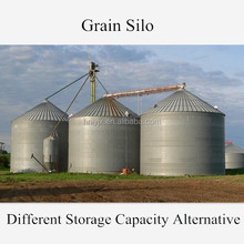 Small Capacity Grain Hopper Bottom Steel Silos For Sale
