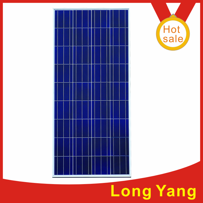 Poly solar modules and solar cell and solar panel
