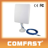 COMFAST CF-N300 2000mW Ralink 3072 300Mbps 2T2R High Power Wireless USB Adapter With Dual 18dBi Antenna