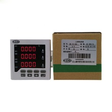 High precision BE-72 3AA AC400/1A three phase digital ac ammeter panel meter
