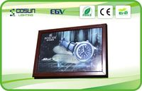 wooden frame led light box with UL certificate