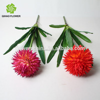 artificial fabric flower, plastic pussy, artificial flowers factory