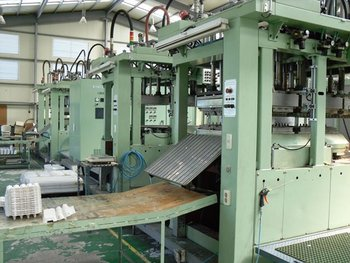 used pulp(fibers) molding machine for sale
