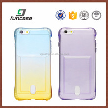 "Thin Case Cover TPU Rubber Gel 5.5"", Transparent Clear Back Case for Iphone 6s Plus, Soft Silicone case"
