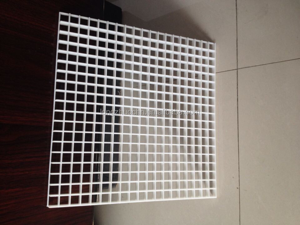High Quality Egg Crate Type Return Air Grille Plastic