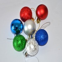 Hot Sale Promotional 16Pcs Christmas Tree Ornament New Year Household Decoration