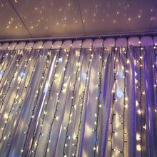 2*3m holiday curtain light for wedding and christmas decoration
