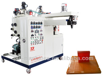 Polyurethane Sieve Pouring Machine CE certification