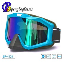 Cool anti slip colorful motorcycle riding glasses