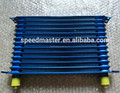 Blue aluminum Trust Design car transmissioin Oil Cooler