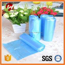 Thickening cleaning plastic point type garbage bags