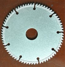 segmented teeth saw blade - acrylic cutting saw blade