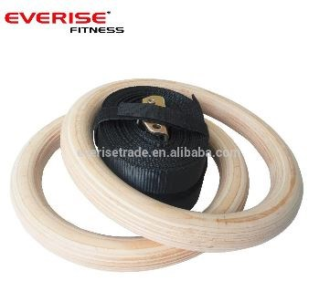 Crossfit Wooden Gym Ring