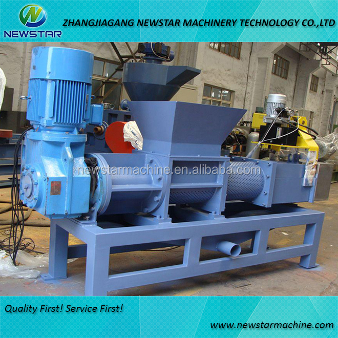 PE film squeezing machine waste plastic dewatering machines for sale