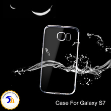High quality Classical design Anti Shock Transparent phone case Soft clear TPU phone case For Samsung galaxy S7 case