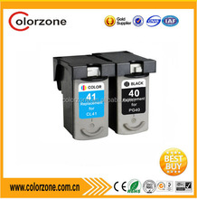 compatible Canon PG 40 CL 41 ink cartridge for canon ip1300