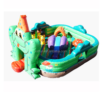 Best seller inflatable frog funland with best price