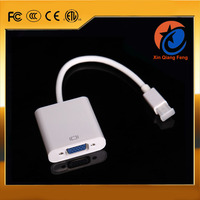high speed male to female thunderbolt Mini displayport DP to VGA converter Adapter for mac