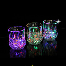 Magic LED Flashing Cup Wine Drink Cup Bar Club Blinking Light-up Cup
