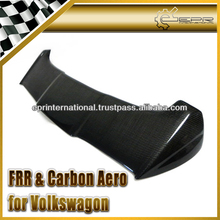 For Volkswagon Polo 6R Carbon Fiber A-Style Rear Roof Spoiler Wing