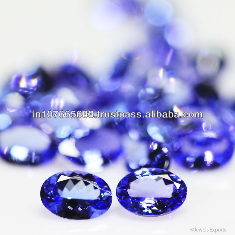 7x5mm - Deep Blue AAA Tanzanite Cut Oval Gems