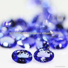 7x5mm - Deep Blue AAA Tanzanite Cut Oval Gemstone