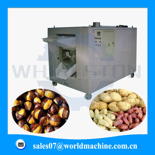 High efficiency stainless steel chestnut roasting equipment with good price