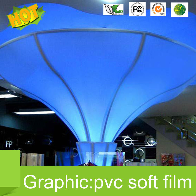 China soft PVC 310g soft Stretch Ceiling film for gypsum board off promotions