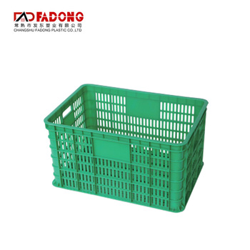 Stackable rectangular vegetable fruit plastic wash basket