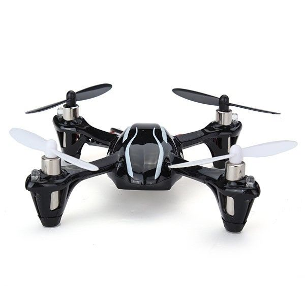 Husan Updated Version H107L 2.4G 6 axis Mini RC Toy UFO Toys Remote Control Quadcopter Hubsan x4 with LED Lights
