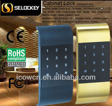 Password/Keypad Smart Metal Iron Electronic RFID hidden cabinet Locker Lock,Digital Locker Lock manufacturer