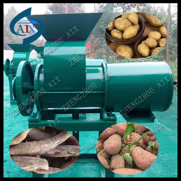 Diesel power cassava starch processing machine for cassava processing plant