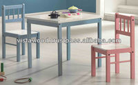 nursery furniture , kids dining suite , small table & small chair