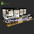 Black color cosmetics shop fitting and store design for small cosmetics shop for sale