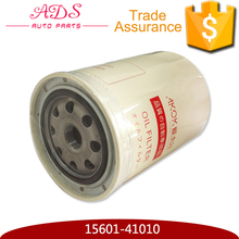Auto spare parts Toyota car engine oil filter in China for Toyota Land Cruiser 4500 OEM: 15601-41010