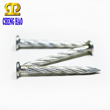 Stainless Steel Screw Flat Head Coil Plastic Collated Concrete Nails