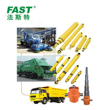 Telescopic Hydraulic Cylinder for Tipper