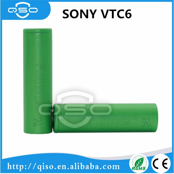 Capacity 3000mah Battery se us18650vtc6 rechargeable battery se us18650v