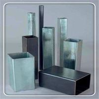 galvanized square steel fence post/ fence pipe
