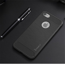 For iPhone 7 Case, Shockproof TPU PC Case For iphone 7 Ipaky Brushed Case