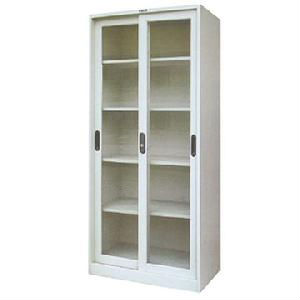 Storage Cabinet in Sliding Glass Doors